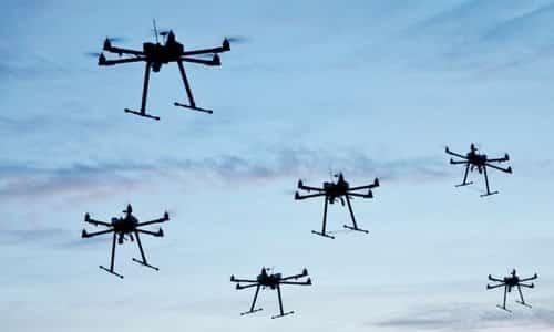 Pentagon Pursues LOCUST Drone Swarm Technology