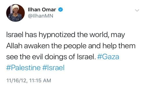 Image result for ilhan omar anti semitic tweets