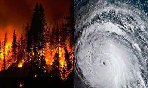 Volcanoes EQ's  Weather Fires Firehurricaneaug252020